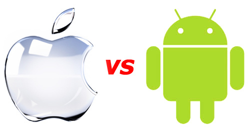 android-apple-vs-une